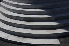 Auslaufende Treppe